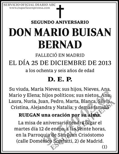 Mario Buisan Bernad